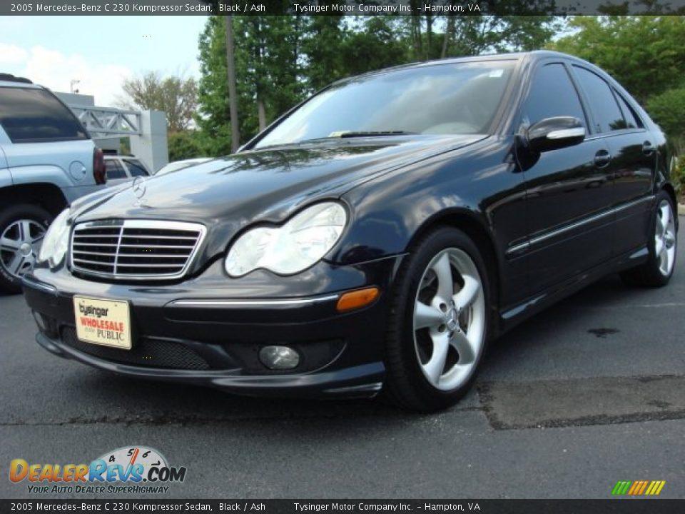 2005 mercedes benz c 230 kompressor sedan black ash for Mercedes benz kompressor 2005