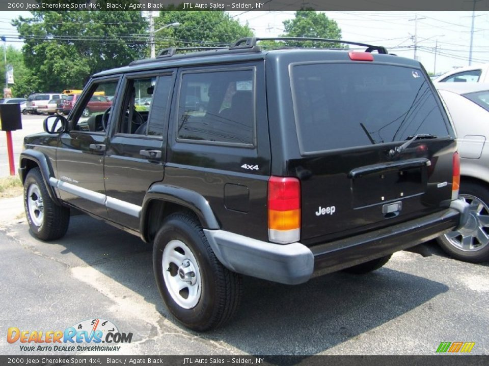 2000 jeep cherokee sport 4x4 black agate black photo 3 dealerrevs. Cars Review. Best American Auto & Cars Review