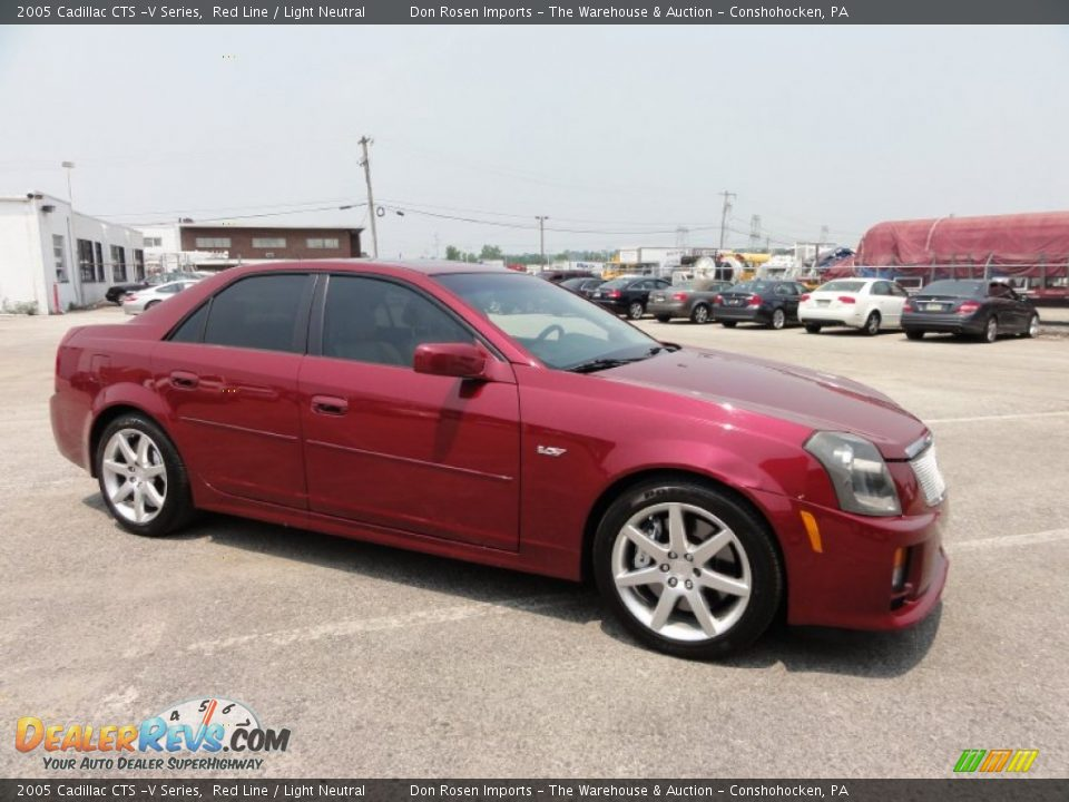 2005 cadillac cts v series red line light neutral photo 6. Black Bedroom Furniture Sets. Home Design Ideas