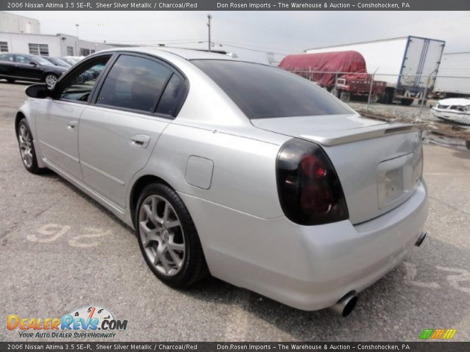 2006 nissan altima 3 5 se r sheer silver metallic. Black Bedroom Furniture Sets. Home Design Ideas