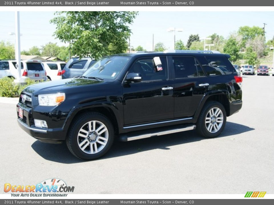 2011 Toyota 4runner Limited 4x4 Black Sand Beige Leather