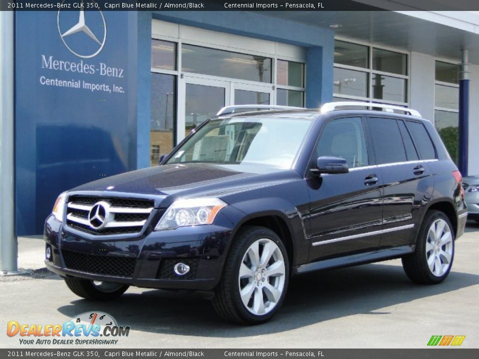 2011 Mercedes Benz Glk 350 Capri Blue Metallic Almond