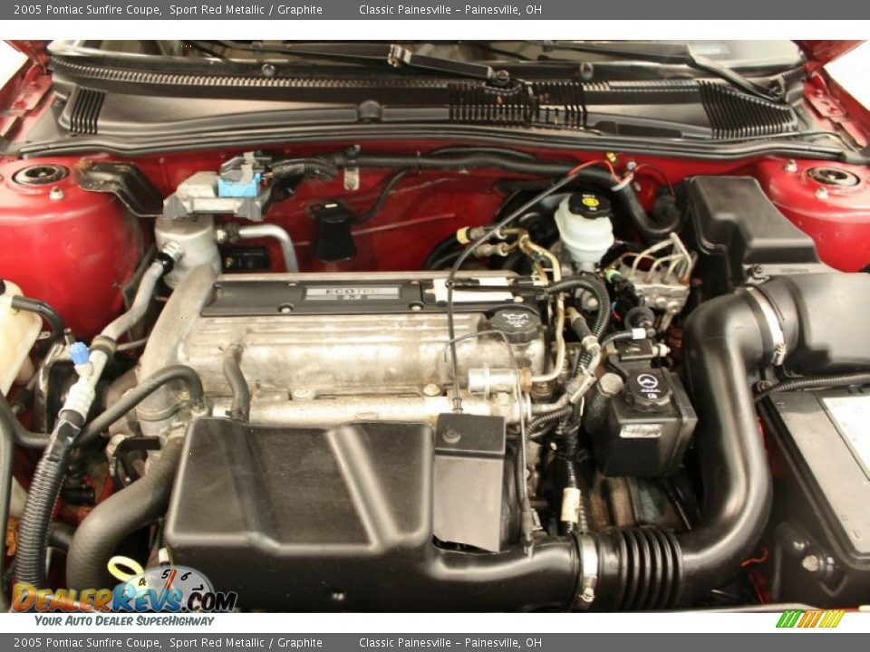 2005 pontiac sunfire coupe 2 2 liter dohc 16v ecotec 4 cylinder engine photo 15 dealerrevs