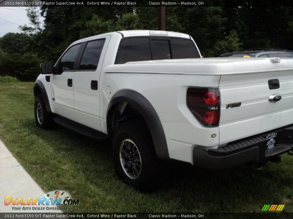 2011 Ford F150 SVT Raptor SuperCrew 4x4 Oxford White
