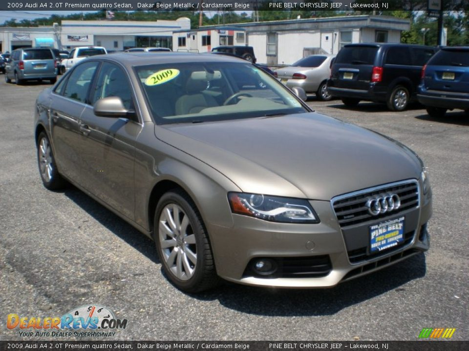 2009 audi a4 2 0t premium quattro sedan dakar beige. Black Bedroom Furniture Sets. Home Design Ideas