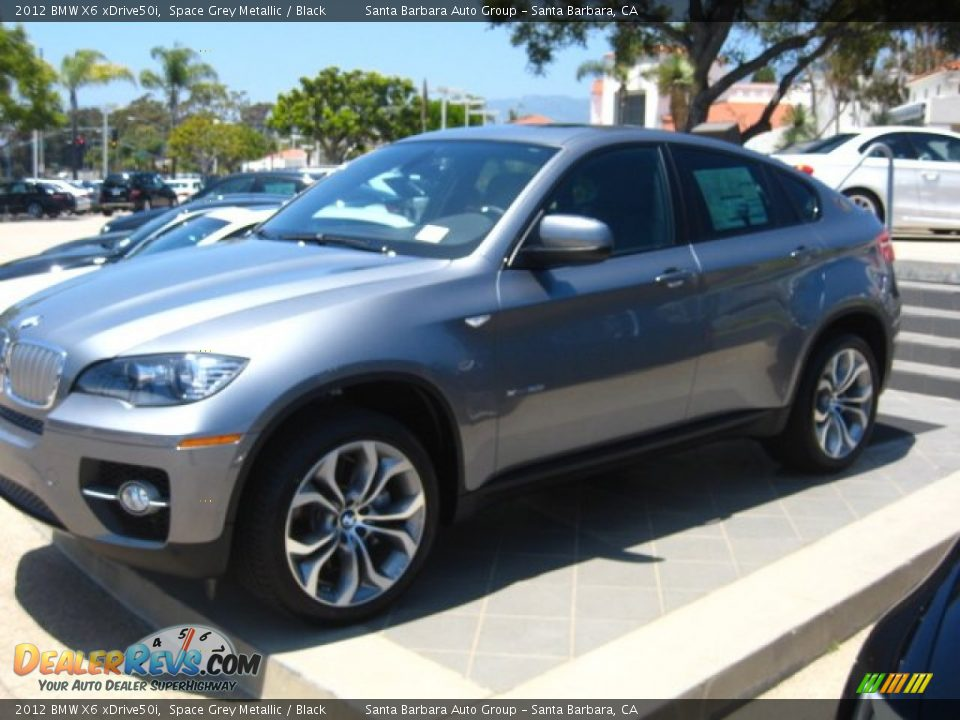 2012 bmw x6 xdrive50i space grey metallic black photo 2. Black Bedroom Furniture Sets. Home Design Ideas