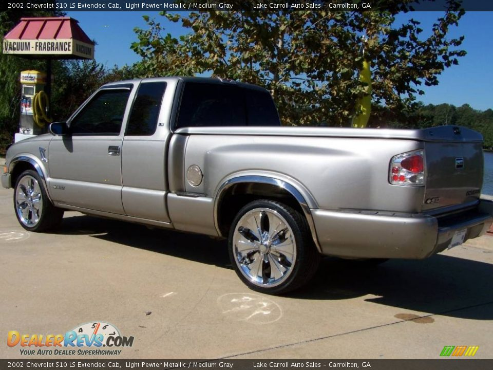 2002 chevrolet s10 ls extended cab light pewter metallic medium gray photo 10. Black Bedroom Furniture Sets. Home Design Ideas