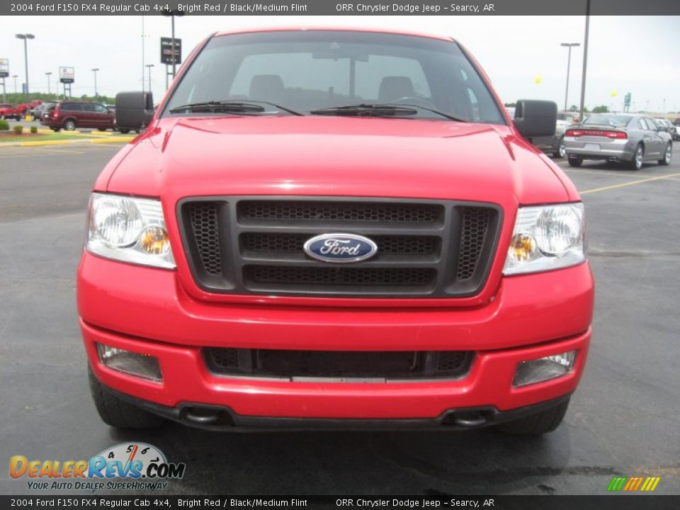 bright red 2004 ford f150 fx4 regular cab 4x4 photo 2. Black Bedroom Furniture Sets. Home Design Ideas