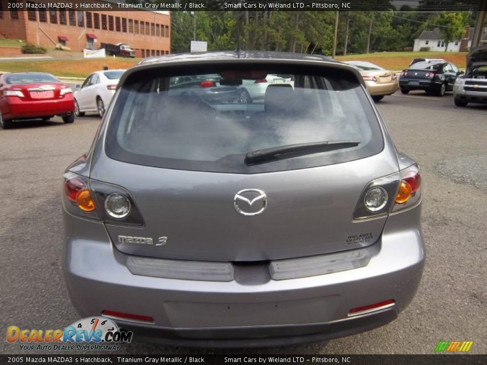 2005 mazda mazda3 s hatchback titanium gray metallic. Black Bedroom Furniture Sets. Home Design Ideas
