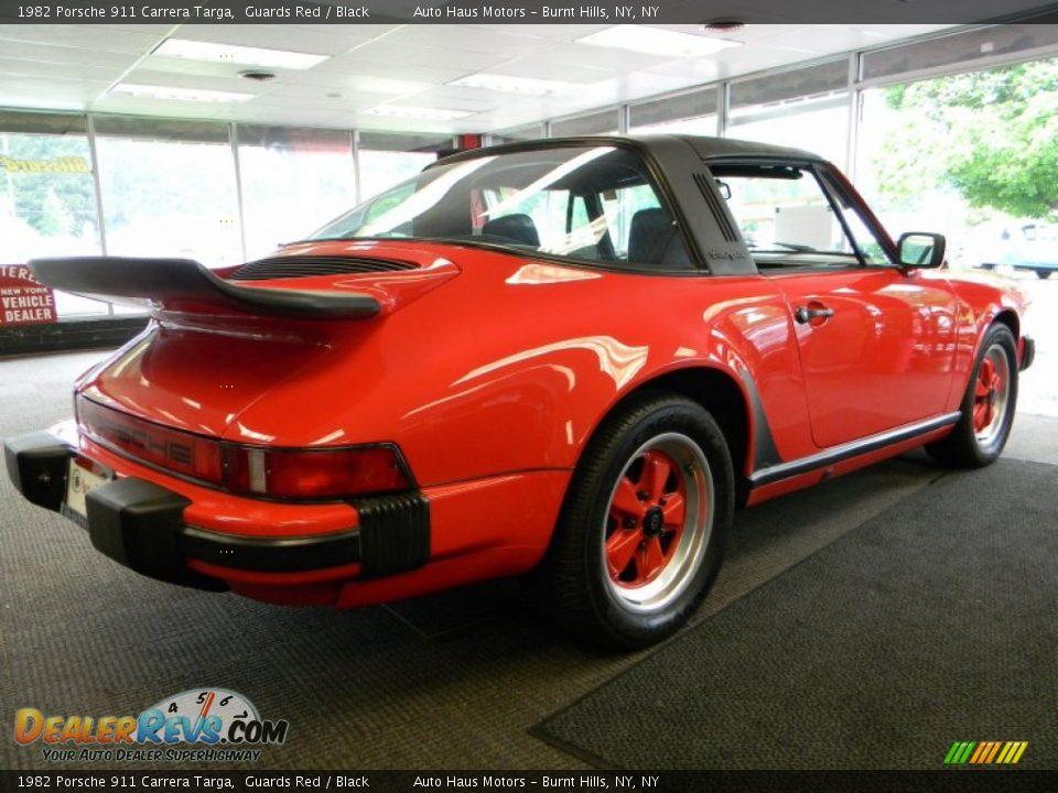 1982 Porsche 911 Carrera Targa Guards Red Black Photo