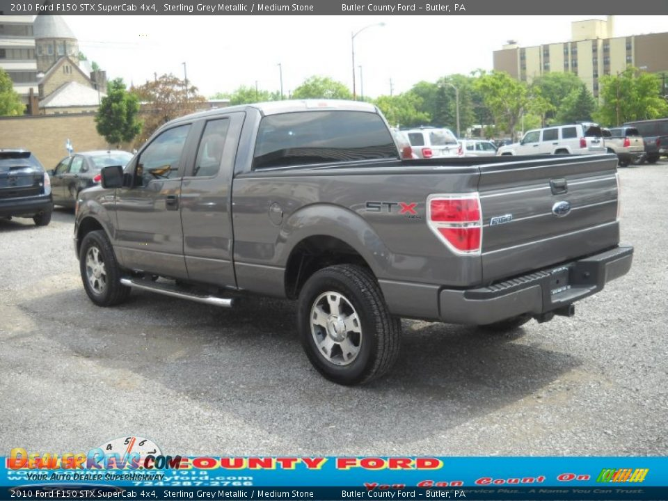 Ford Dealer Locator >> 2010 Ford F150 STX SuperCab 4x4 Sterling Grey Metallic ...