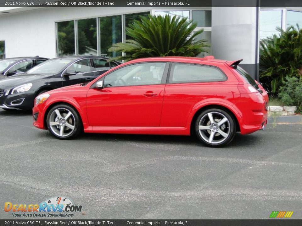 Passion Red 2011 Volvo C30 T5 Photo 10 Dealerrevs Com