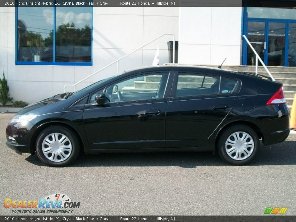 Crystal Black Pearl 2010 Honda Insight Hybrid Lx Photo 3
