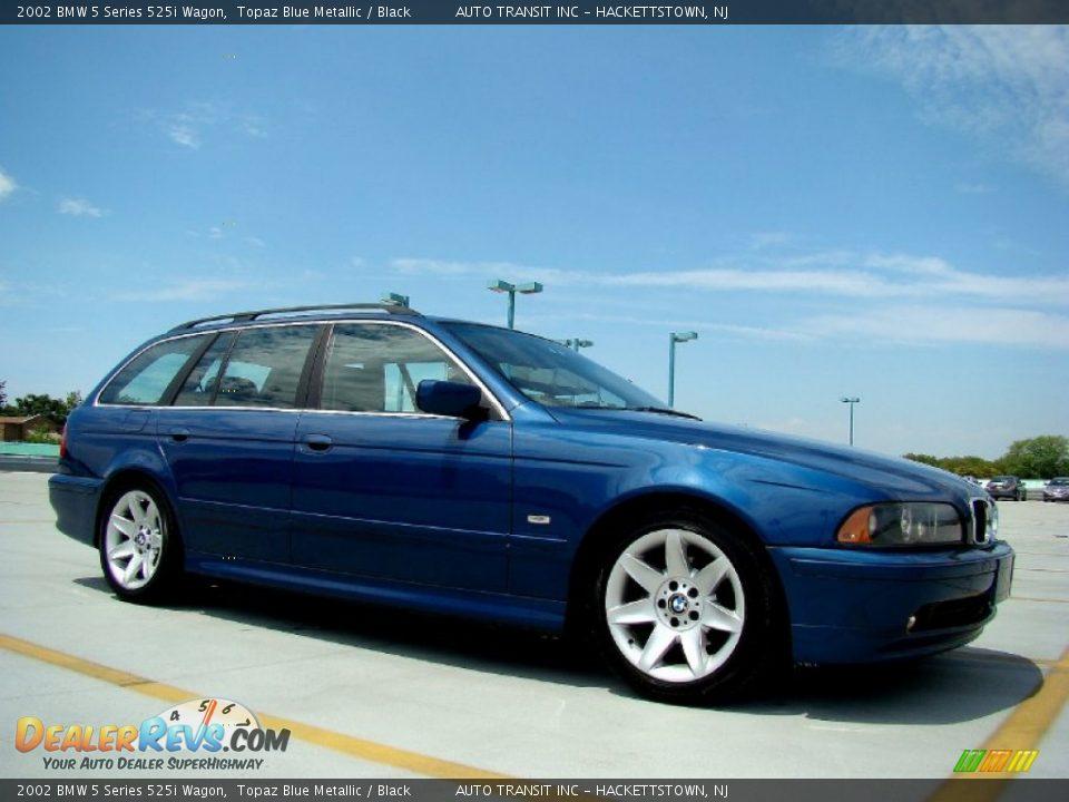 topaz blue metallic 2002 bmw 5 series 525i wagon photo 18. Black Bedroom Furniture Sets. Home Design Ideas