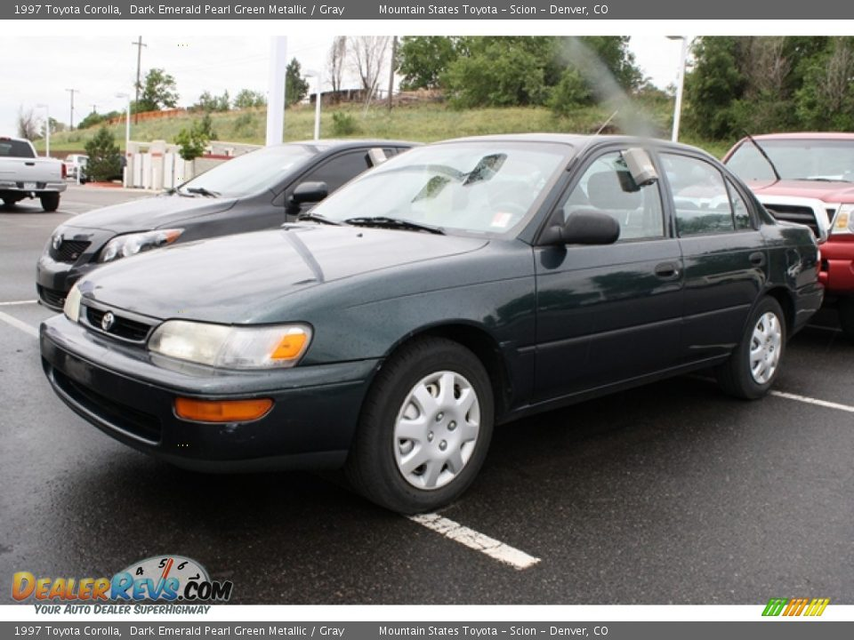 1997 Toyota Corolla Dark Emerald Pearl Green Metallic