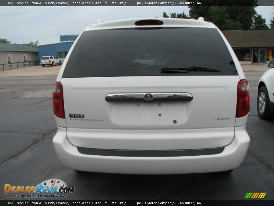 2004 chrysler town country limited stone white medium for Stone s town country motors
