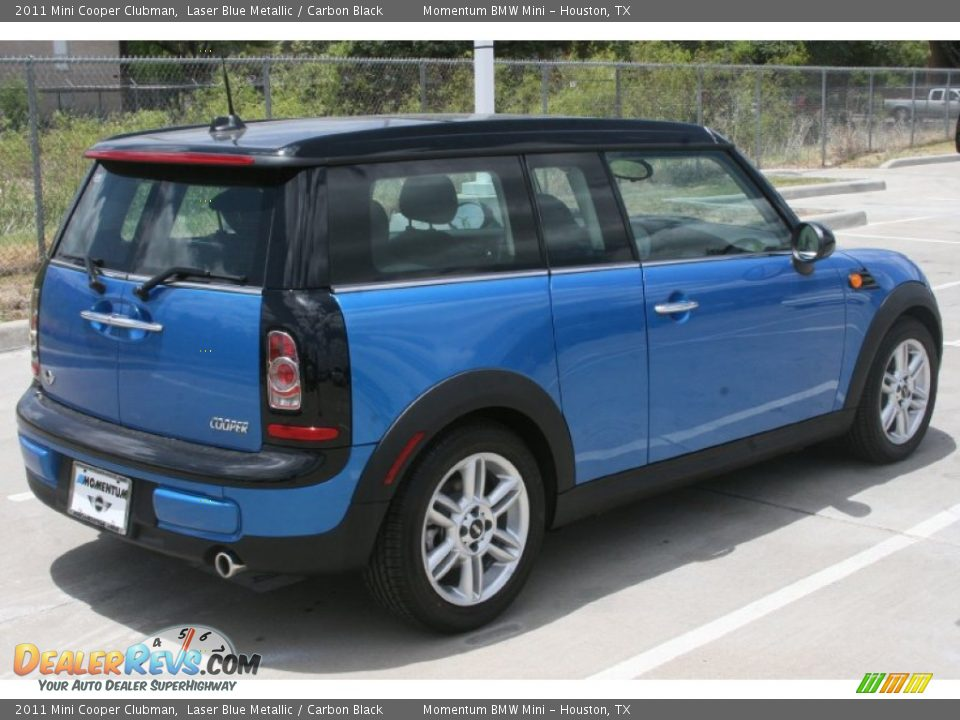2011 Mini Cooper Clubman Laser Blue Metallic Carbon
