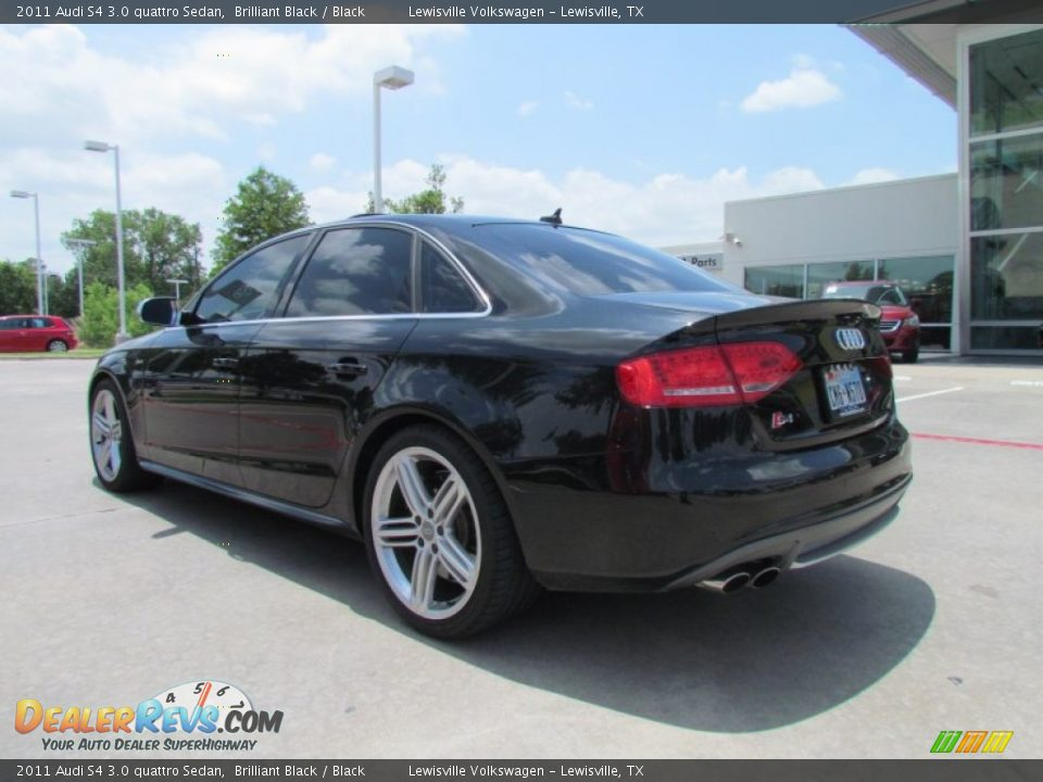 2011 audi s4 3 0 quattro sedan brilliant black black. Black Bedroom Furniture Sets. Home Design Ideas