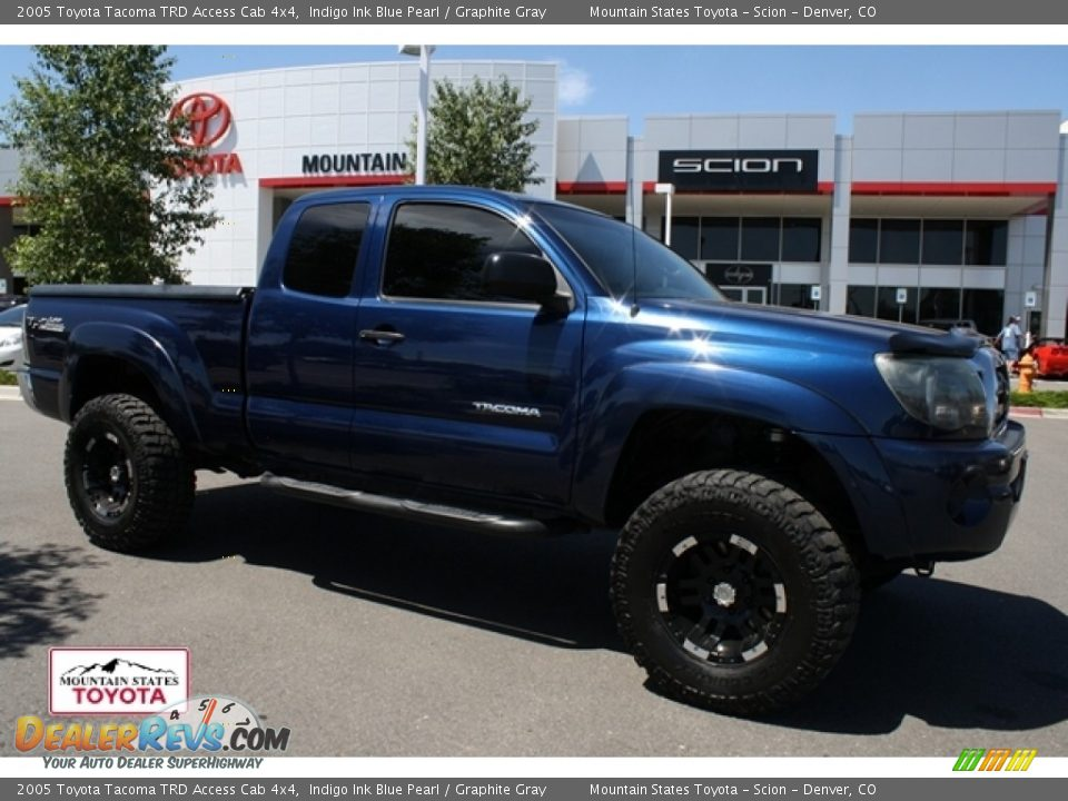 2005 toyota tacoma trd access cab 4x4 indigo ink blue. Black Bedroom Furniture Sets. Home Design Ideas