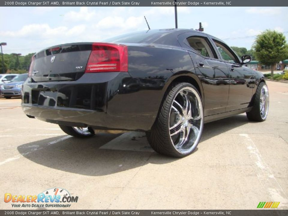 Custom Wheels Of 2008 Dodge Charger Sxt Awd Photo 5