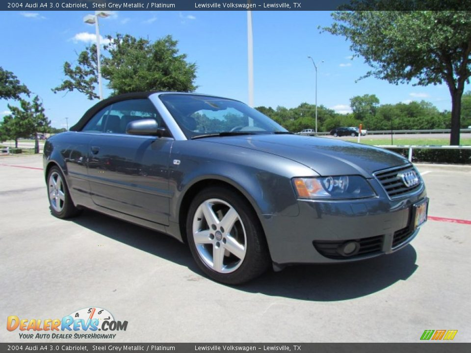 Front 3 4 View Of 2004 Audi A4 3 0 Cabriolet Photo 7
