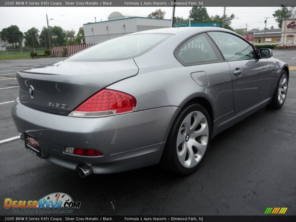 2005 bmw 6 series 645i coupe silver grey metallic black photo 3. Black Bedroom Furniture Sets. Home Design Ideas