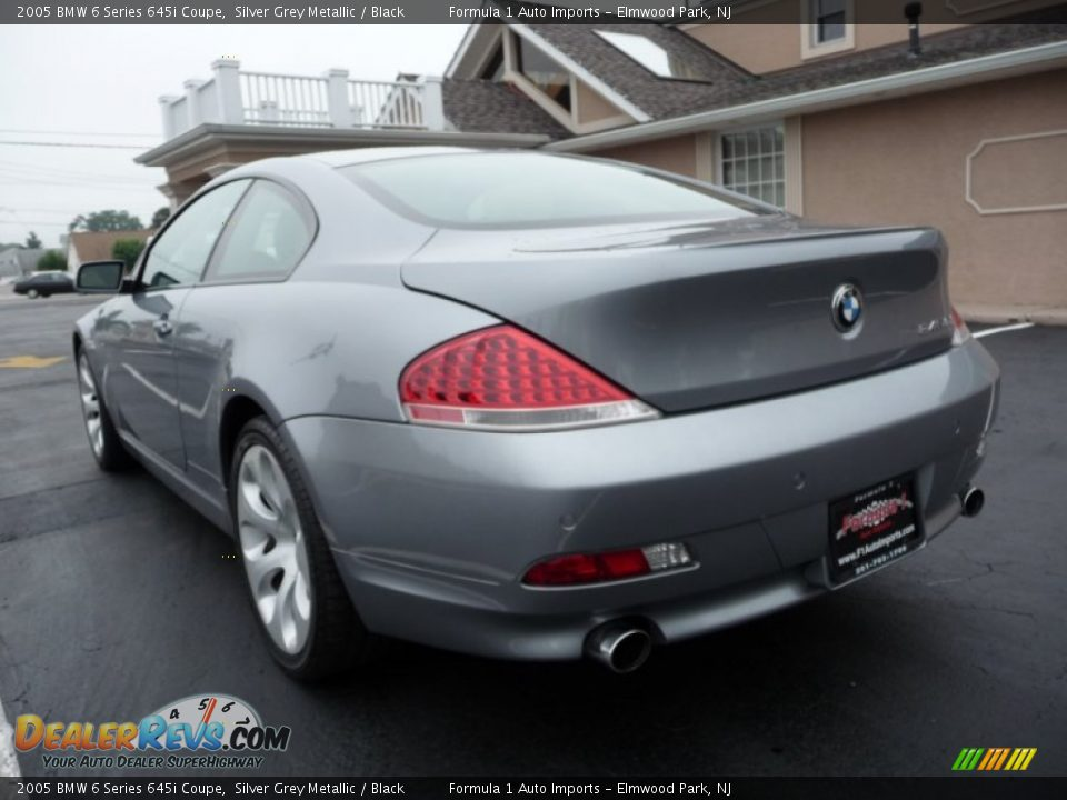 2005 bmw 6 series 645i coupe silver grey metallic black photo 4. Black Bedroom Furniture Sets. Home Design Ideas
