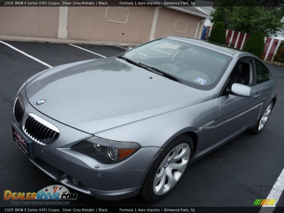 2005 bmw 6 series 645i coupe silver grey metallic black photo 16. Black Bedroom Furniture Sets. Home Design Ideas