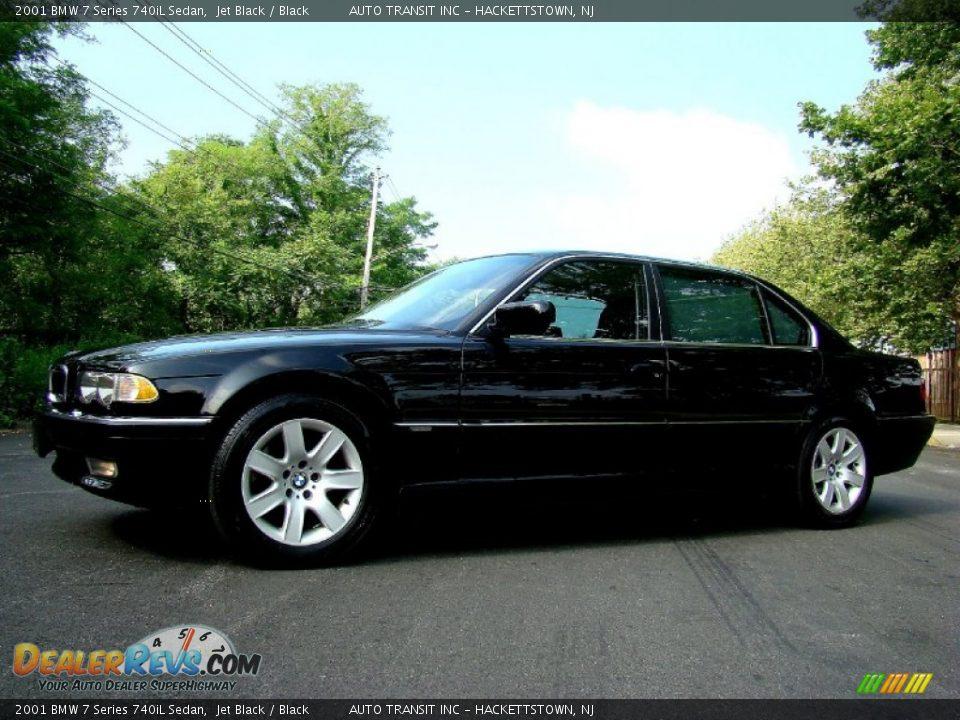 2001 bmw 7 series 740il sedan jet black black photo 18. Black Bedroom Furniture Sets. Home Design Ideas