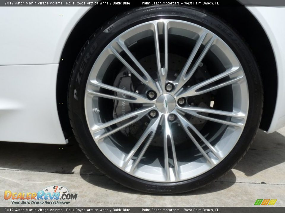 2012 Aston Martin Virage Volante Wheel Photo #13