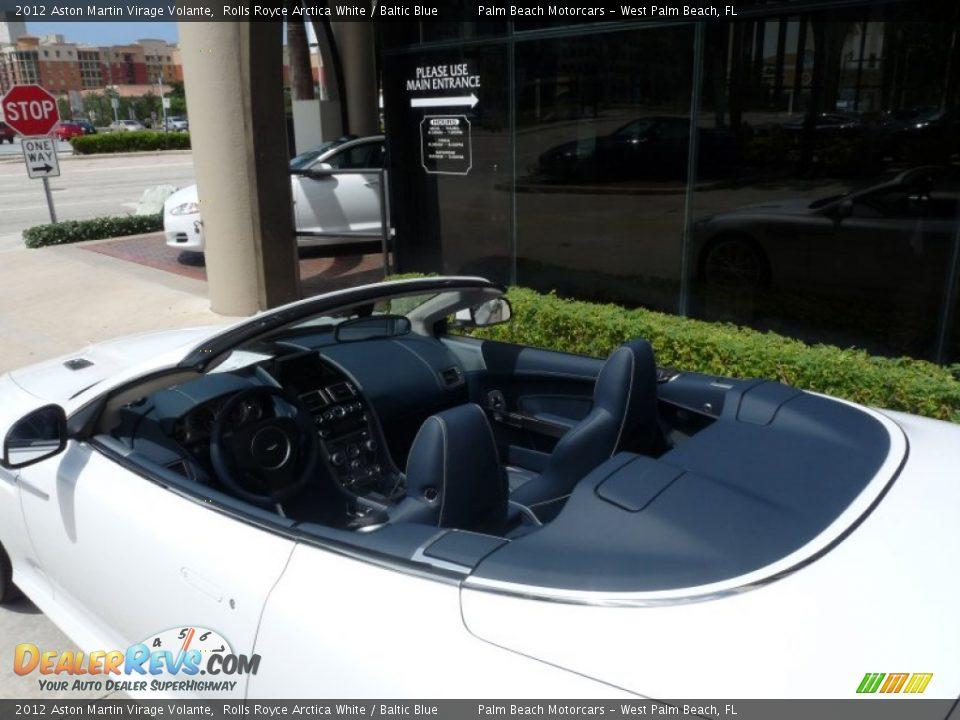 Baltic Blue Interior - 2012 Aston Martin Virage Volante Photo #16