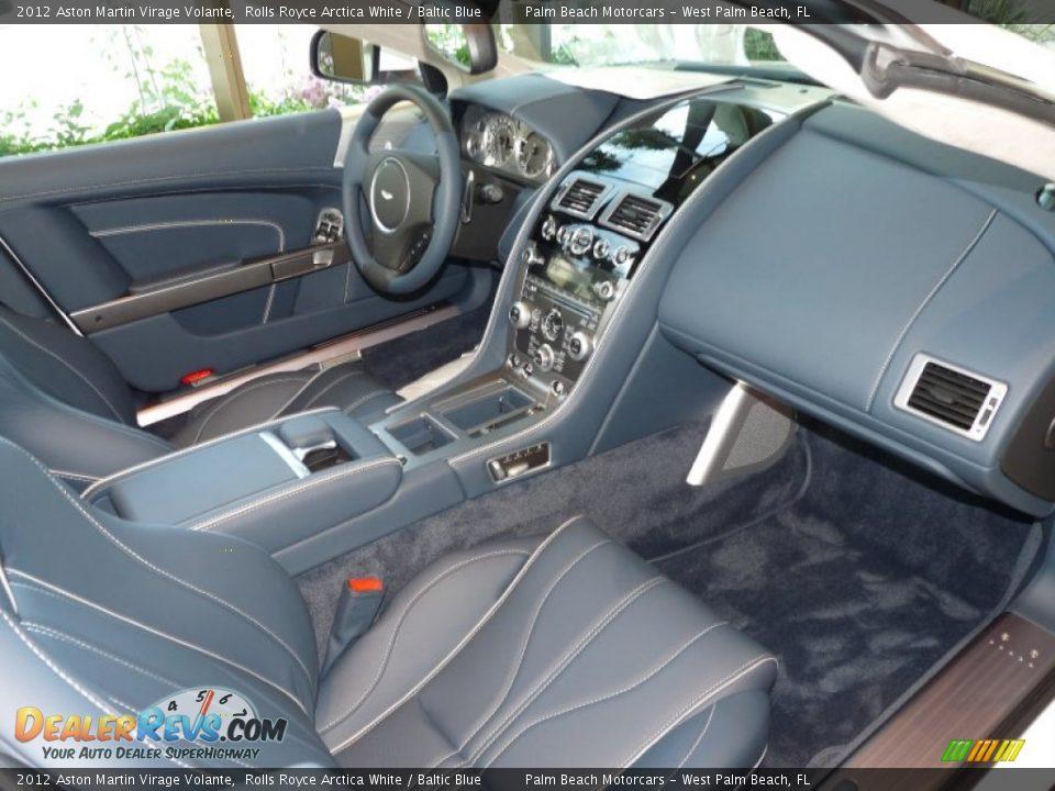 Dashboard of 2012 Aston Martin Virage Volante Photo #24
