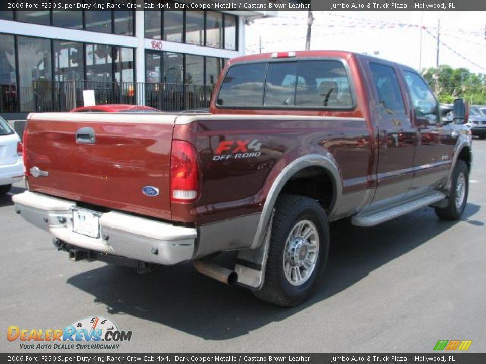 2006 Ford F250 Super Duty King Ranch Crew Cab 4x4 Dark Copper Metallic ...