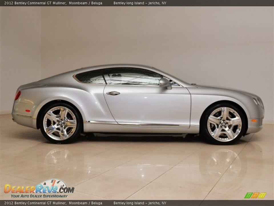 2012 Bentley Continental Gt Mulliner Moonbeam Beluga