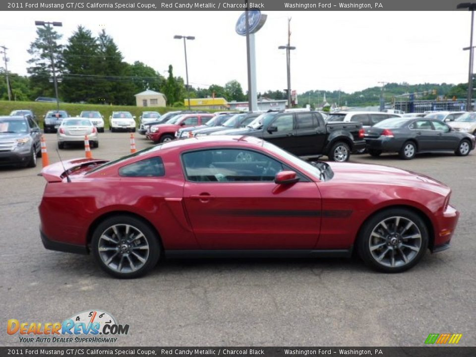 red candy metallic 2011 ford mustang gt cs california special coupe photo 5. Black Bedroom Furniture Sets. Home Design Ideas