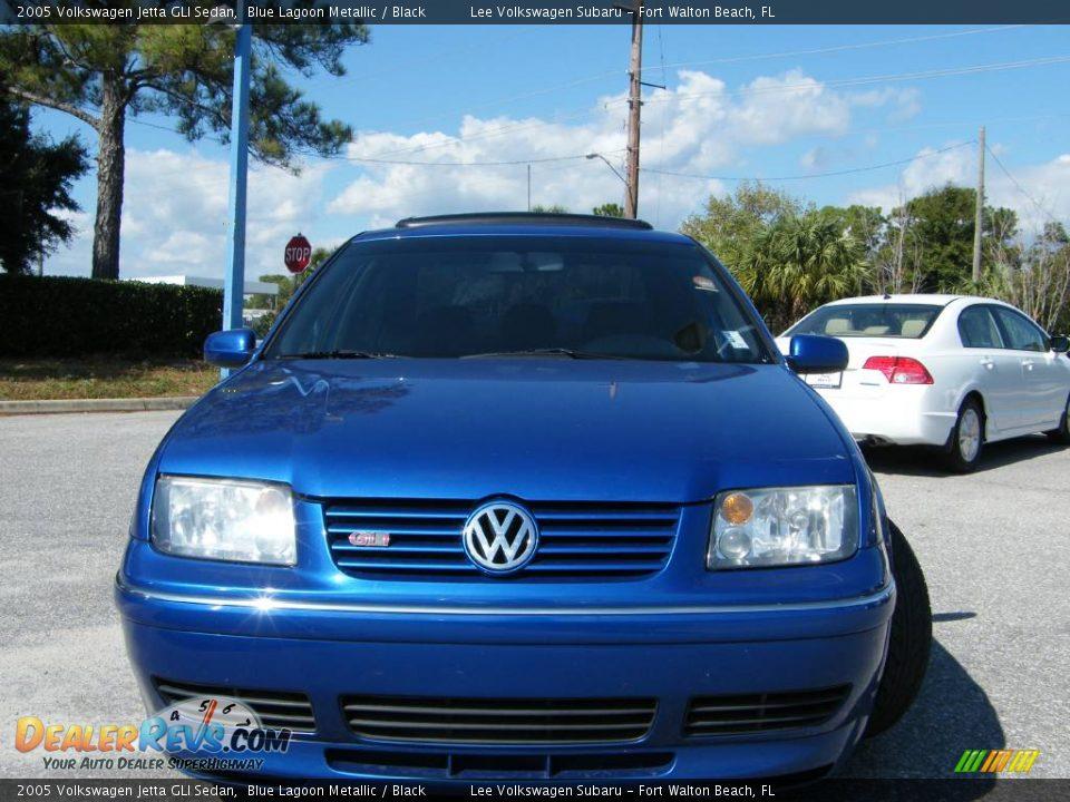 2005 Volkswagen Jetta Gli Sedan Blue Lagoon Metallic