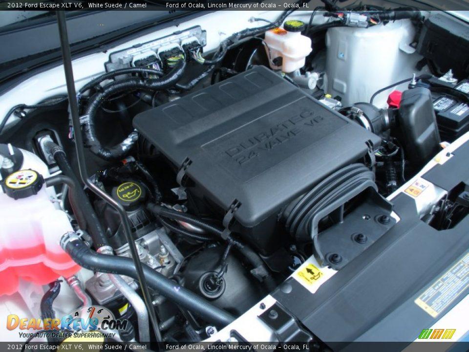 2012 ford escape xlt v6 3 0 liter dohc 24 valve duratec flex fuel v6 engine photo 12. Black Bedroom Furniture Sets. Home Design Ideas