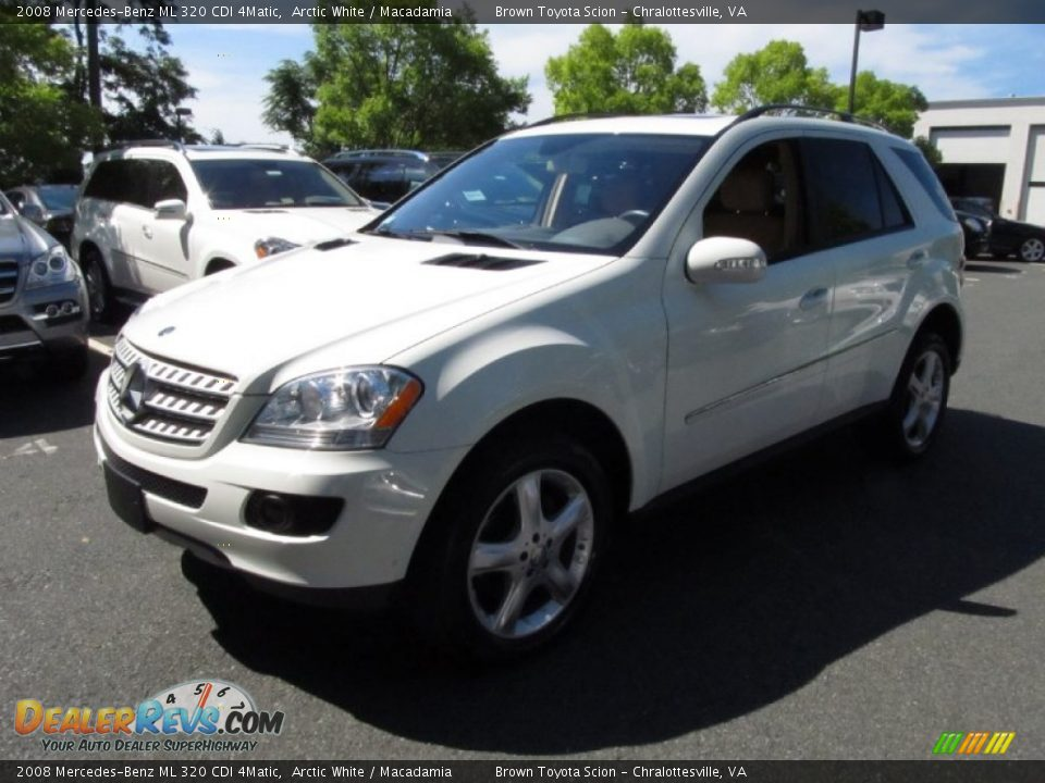2008 mercedes benz ml 320 cdi 4matic arctic white. Black Bedroom Furniture Sets. Home Design Ideas