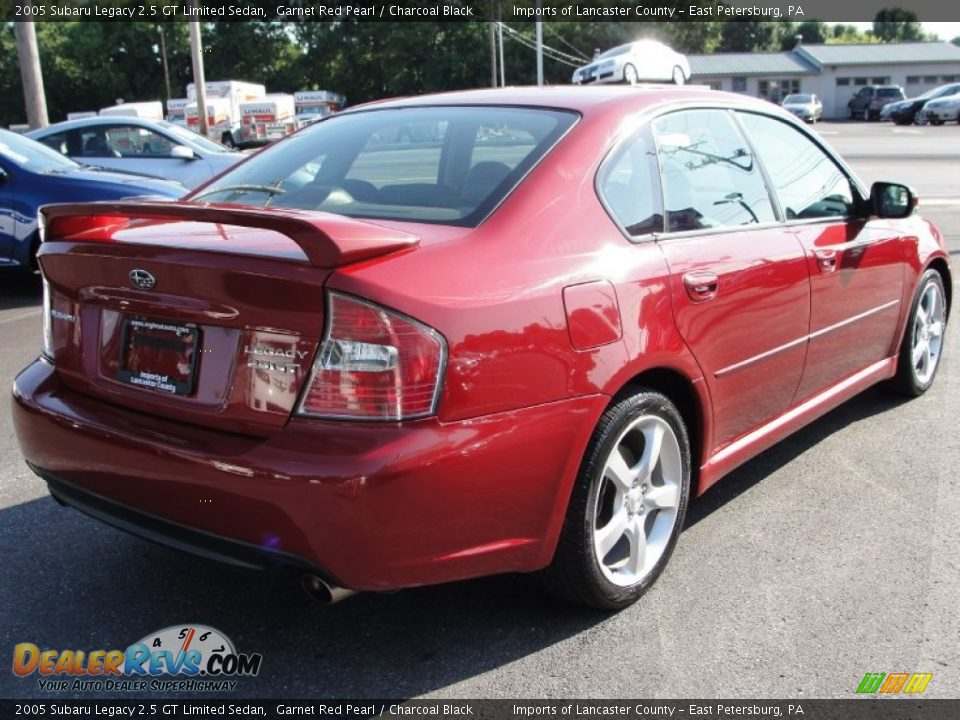 2005 subaru legacy 2 5 gt limited sedan garnet red pearl. Black Bedroom Furniture Sets. Home Design Ideas