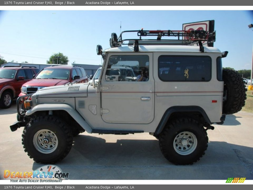 beige 1976 toyota land cruiser fj40 photo 3. Black Bedroom Furniture Sets. Home Design Ideas