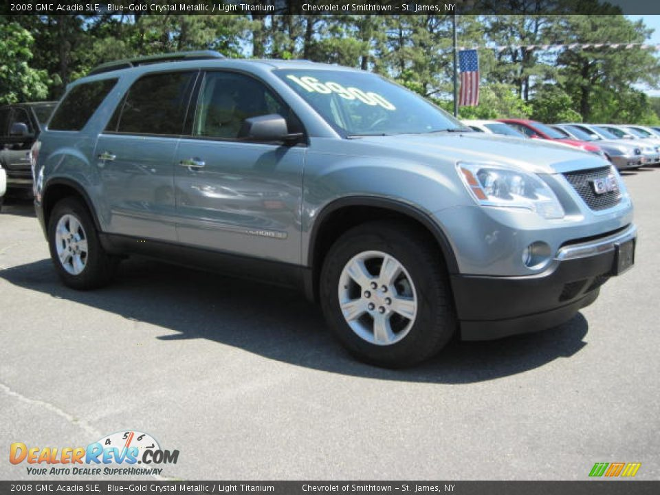 2008 Gmc Acadia Sle Blue-gold