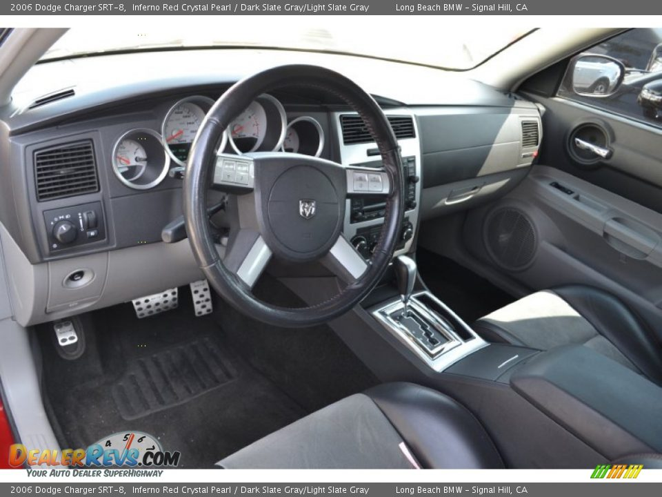 Dark Slate Gray Light Slate Gray Interior 2006 Dodge Charger Srt 8 Photo 3