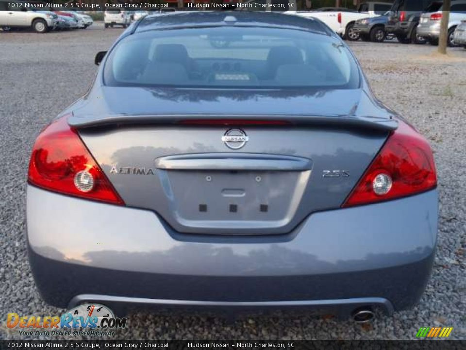 2012 nissan altima 2 5 s coupe ocean gray charcoal photo 4. Black Bedroom Furniture Sets. Home Design Ideas