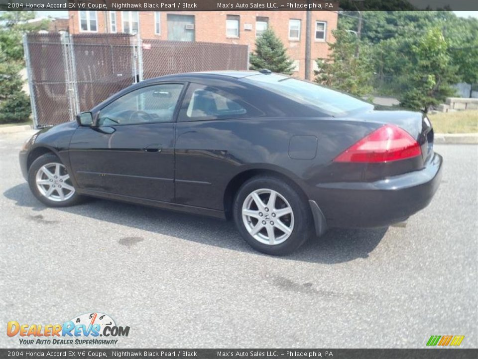 2004 honda accord ex v6 coupe nighthawk black pearl black photo 3. Black Bedroom Furniture Sets. Home Design Ideas