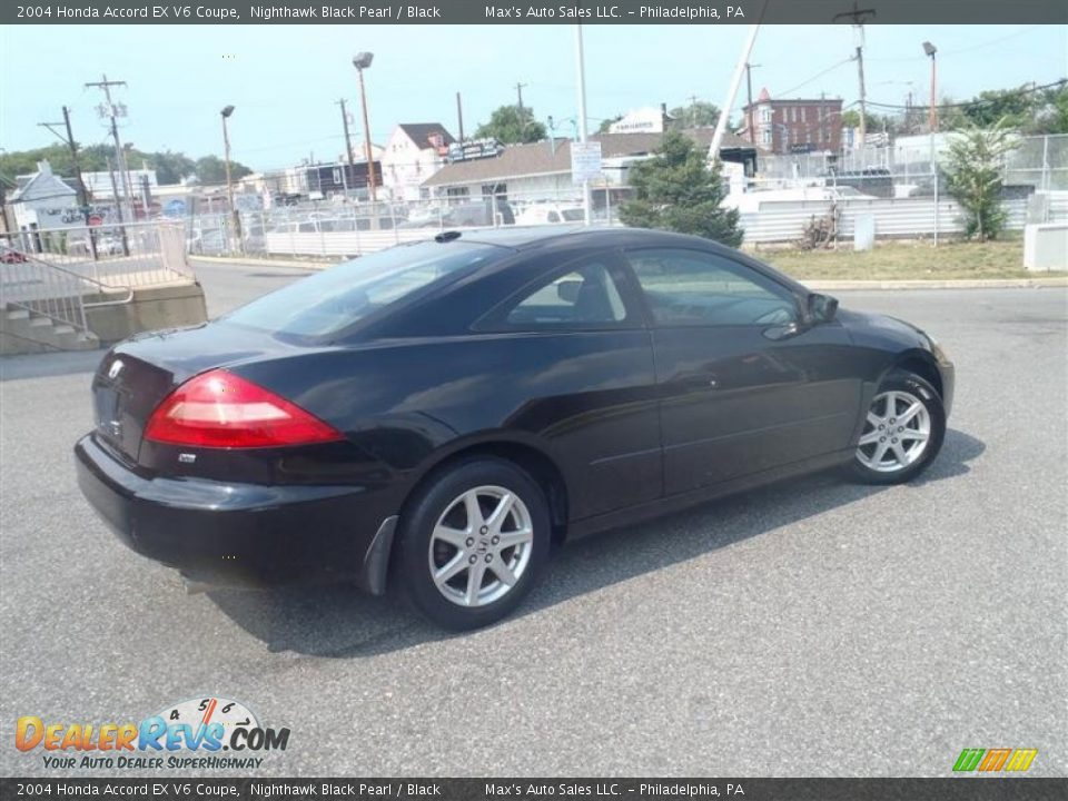 2004 honda accord ex v6 coupe nighthawk black pearl black photo 4. Black Bedroom Furniture Sets. Home Design Ideas