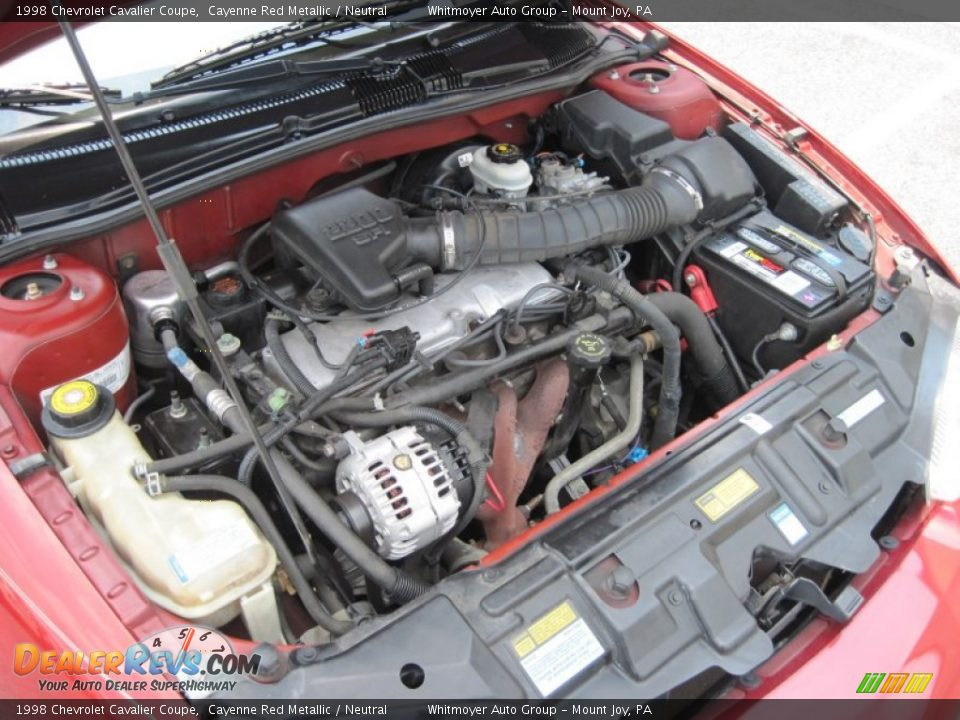 1998       Chevrolet       Cavalier    Coupe 22 Liter OHV 8Valve 4 Cylinder    Engine    Photo  9   DealerRevs