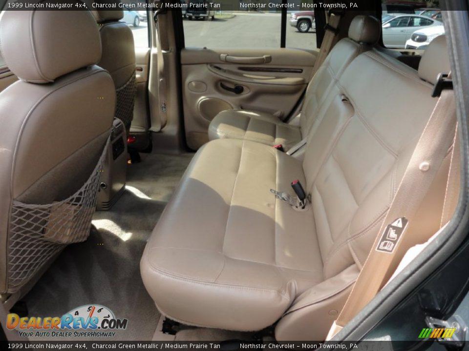 Medium Prairie Tan Interior 1999 Lincoln Navigator 4x4 Photo 12