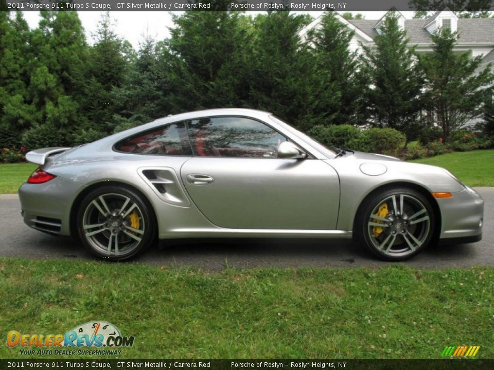 gt silver metallic 2011 porsche 911 turbo s coupe photo 7. Black Bedroom Furniture Sets. Home Design Ideas