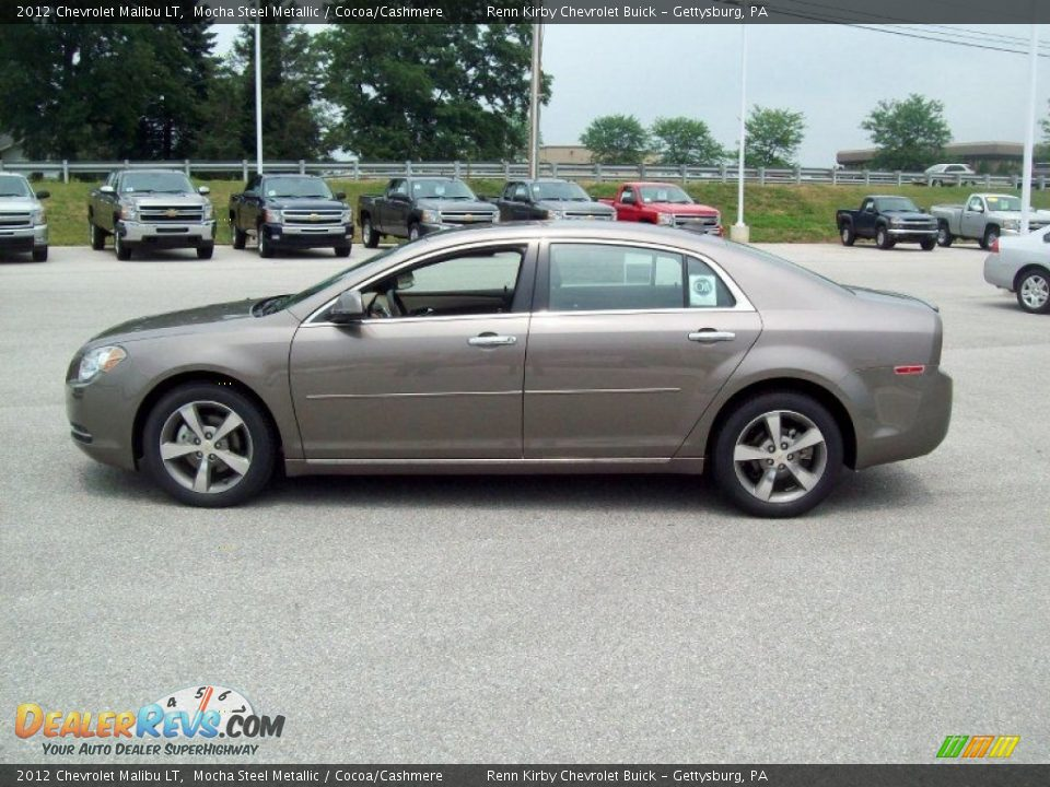 Mocha Steel Metallic 2012 Chevrolet Malibu LT Photo #12