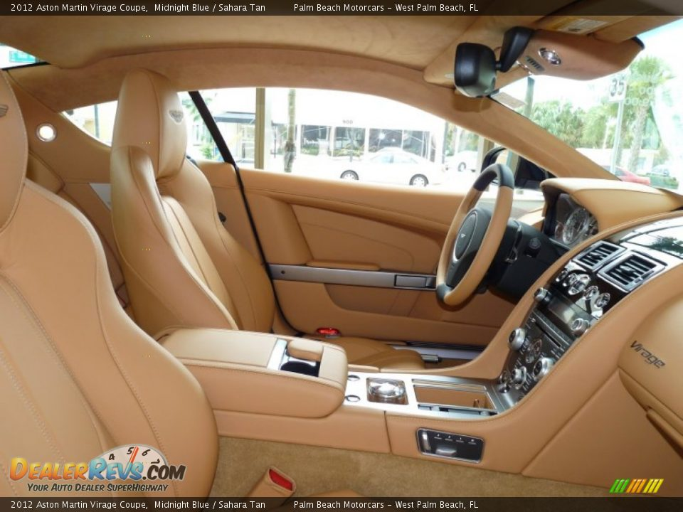 Sahara Tan Interior 2012 Aston Martin Virage Coupe Photo